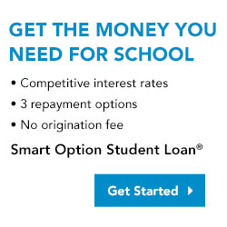 Get the money you need for school - Smart Option Student Loan - Get Started